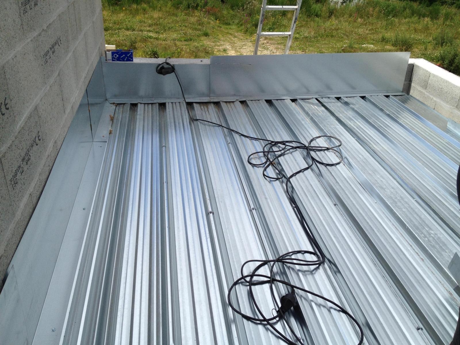 A lecomte couverture couverture charpente ossature - Toiture terrasse bac acier ...
