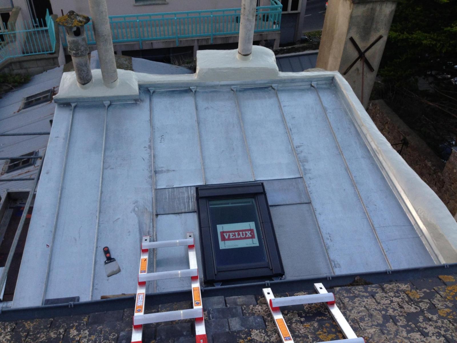 A lecomte couverture couverture charpente ossature - Fenetre de toit terrasse ...